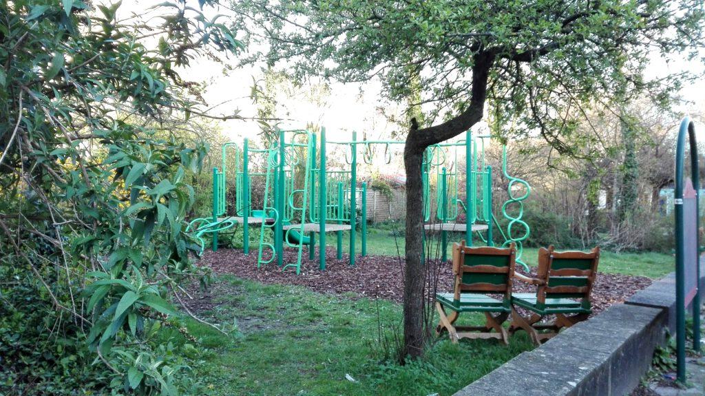 De buurtnatuurtuinen zorgen voor meer groen in de wijk