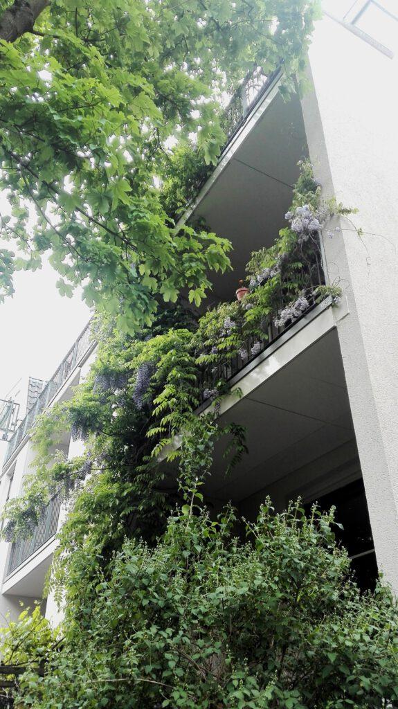 Groen balkon © Marleen Michels