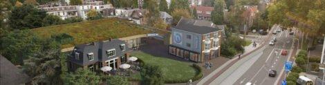Groen dak Hoogvliet | ontwerp D&M architecten
