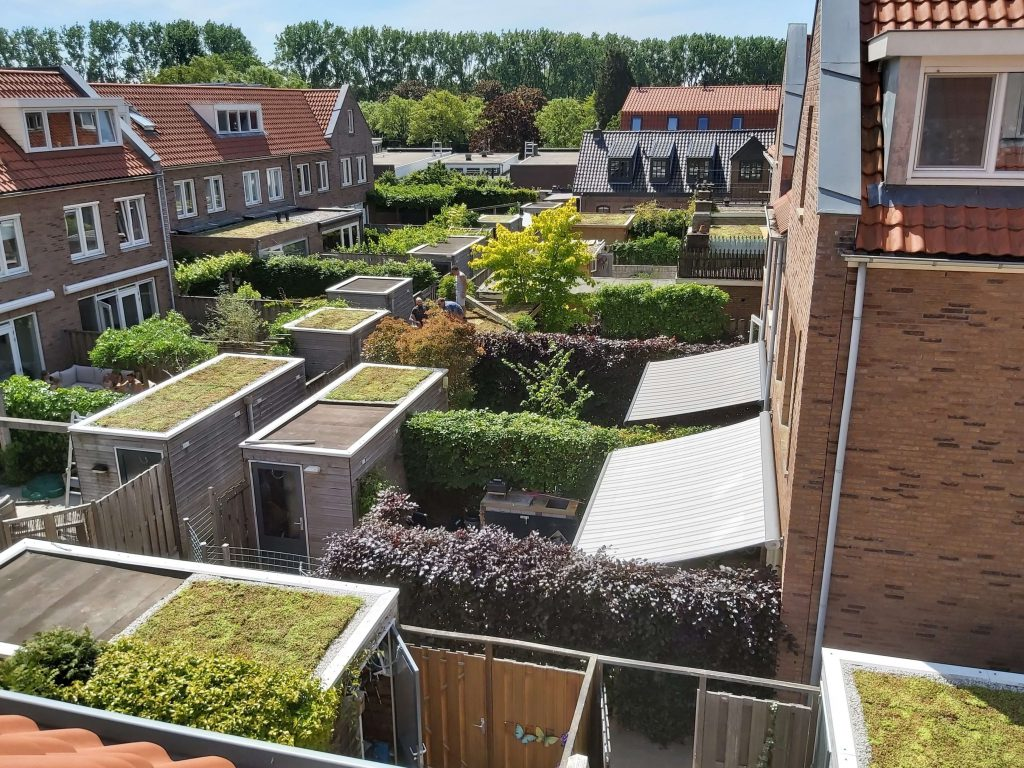 Groene daken Plattenburg