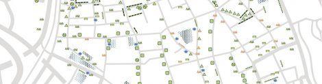 Kaart van groen