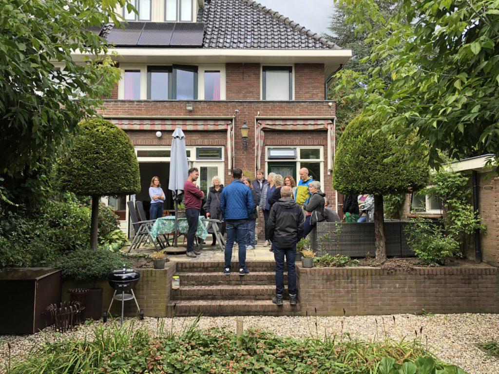 Bij een klimaatcarrousel inspireren buurtbewoners elkaar om duurzame maatregelen te nemen