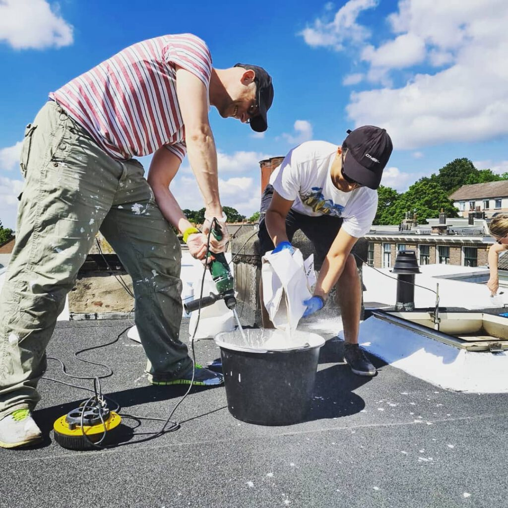 Wit dak Klarendal