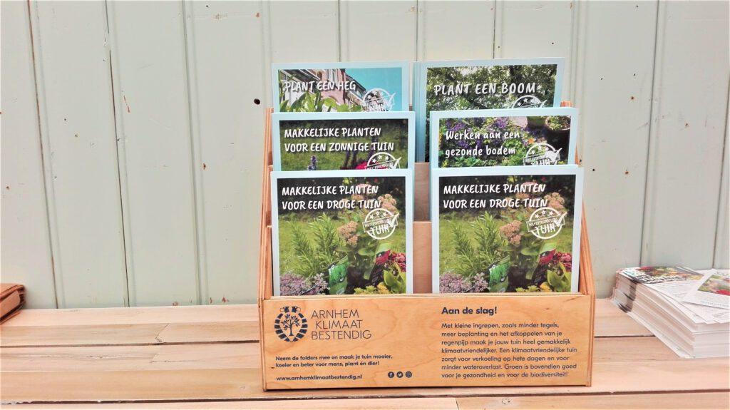 Watervriendelijke tuin folders