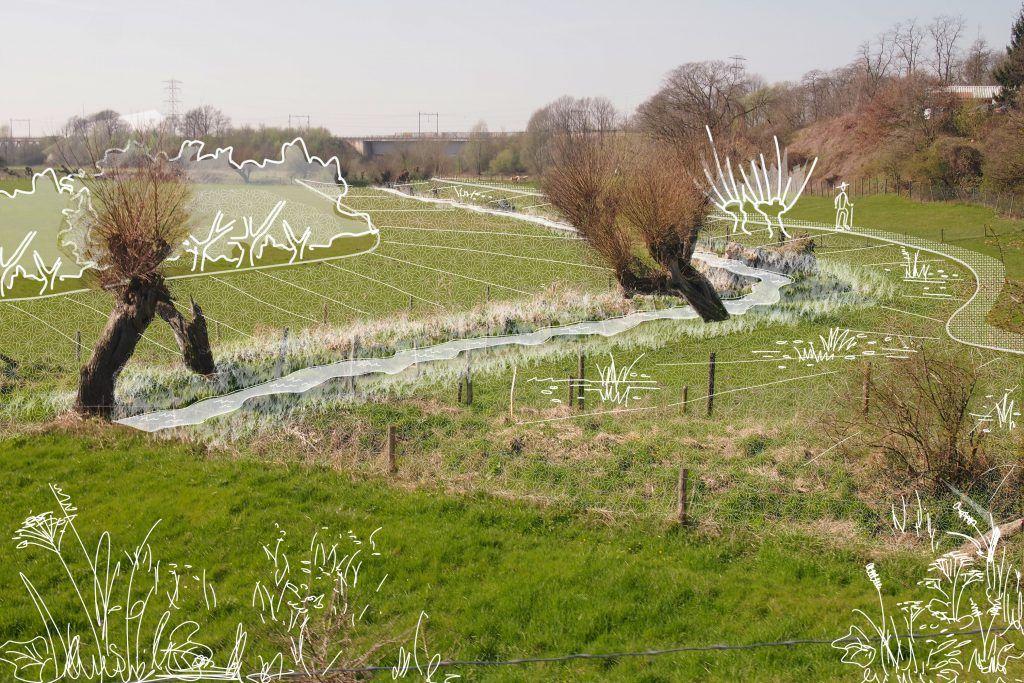 Het plan voor het Slijpbeekpark