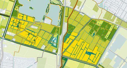 Kaart Park Lingezegen